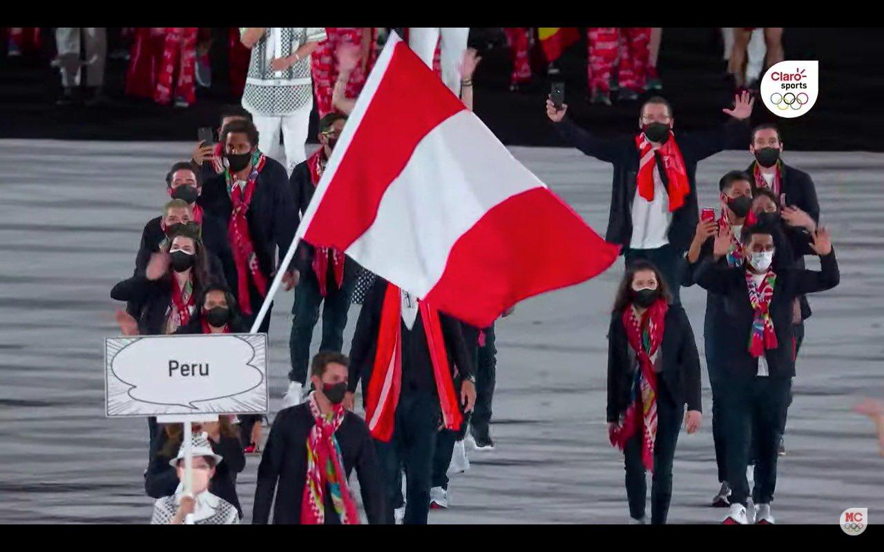 Delegación peruana Juegos Olímpicos