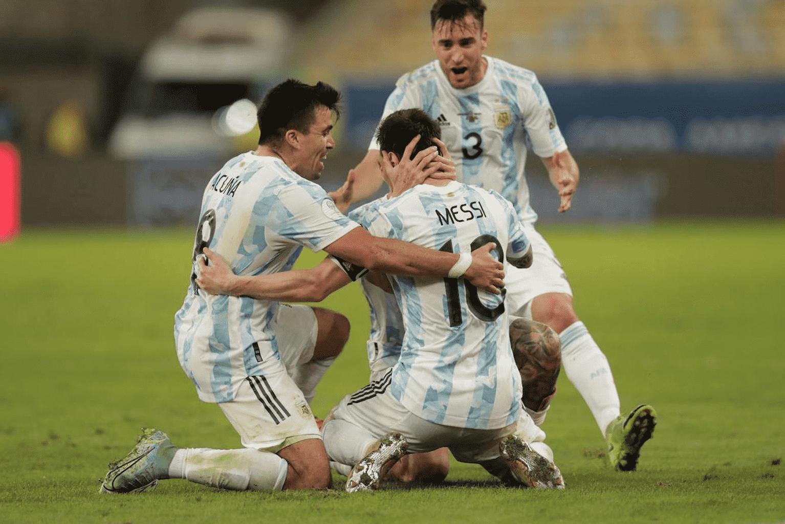 los mejores goles de copa américa 2021