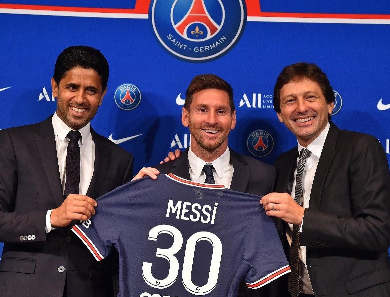 Lionel Messi nuevo jugador del PSG